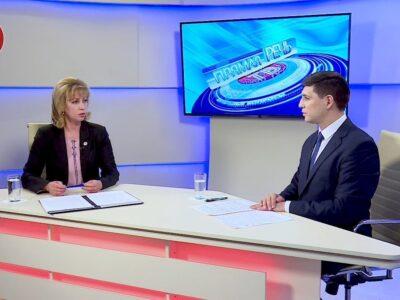 «Прямая речь». Министр труда и социальной политики Лариса Толстыкина