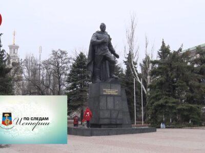 Памятник Ивану Ткаченко. Выпуск №95