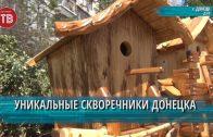 Уникальные скворечники Донецка