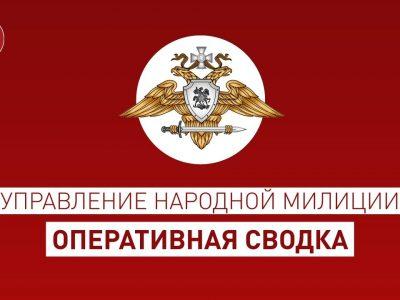 Оперативная сводка на 17.00 по состоянию на 8 июня