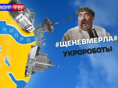 #Щеневмерла# Укроботы